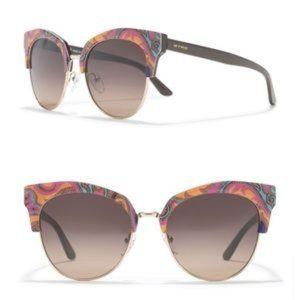 ETRO Sunglasses Orange Paisley NWOT